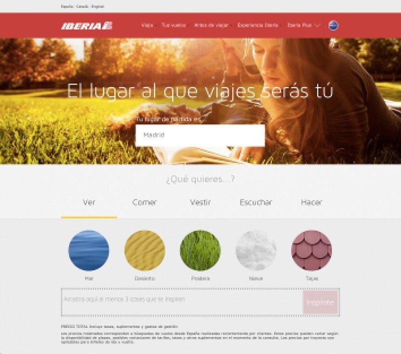 La nueva web de Iberia agiliza el proceso de búsqueda.