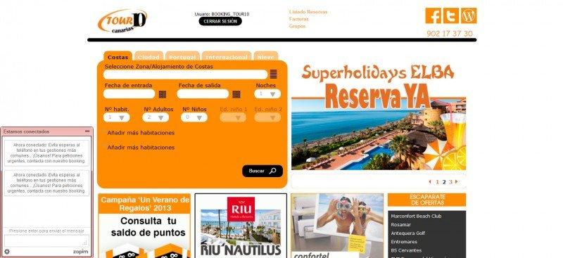 Tour 10 renueva su web e incorpora un nuevo buscador con más de 40.000 hoteles