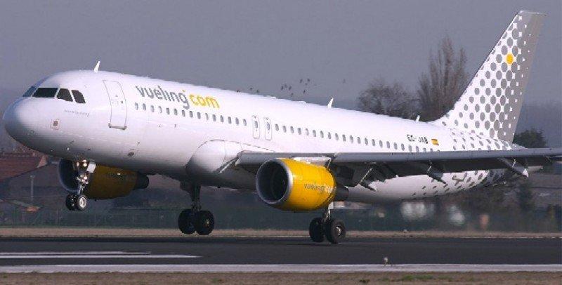 Vueling aumentó su número de operaciones en junio.