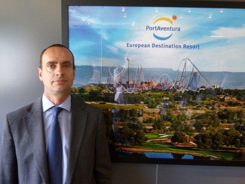 El director general de PortAventura, Fernando Aldecoa.
