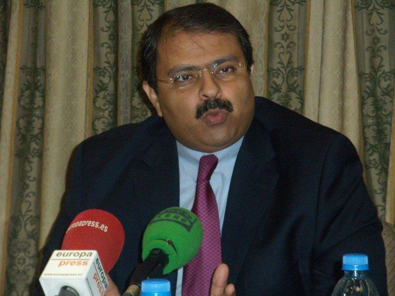 Ayman Zaineldine, embajador de Egipto en España.
