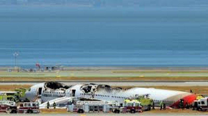El Boeing 777 se estr.