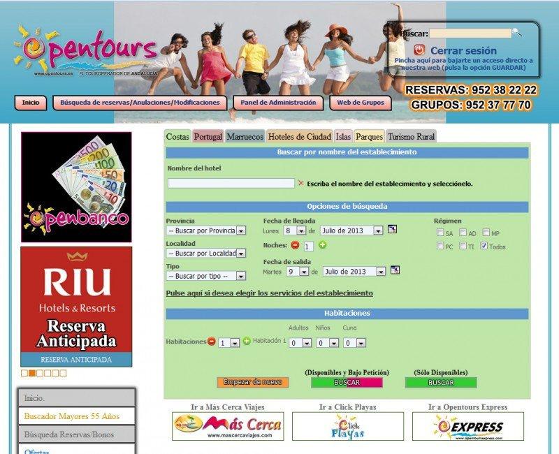 Opentours pone en marcha un paquete de medidas en apoyo a los agentes de viajes