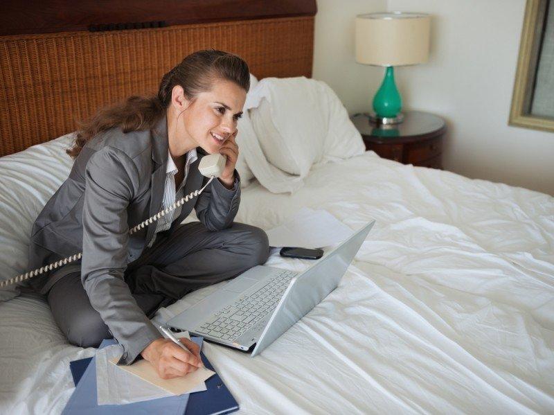 Los aparthoteles se han consolidado como una interesante opción para hombres y mujeres de negocios para sus estancias más largas. #shu#