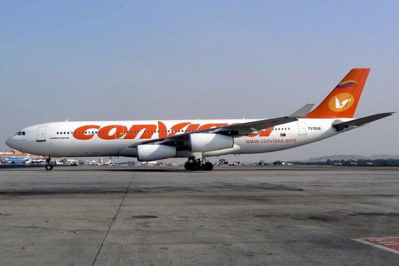 La aerolínea venezolana Conviasa sale de la lista negra de la Unión Europea