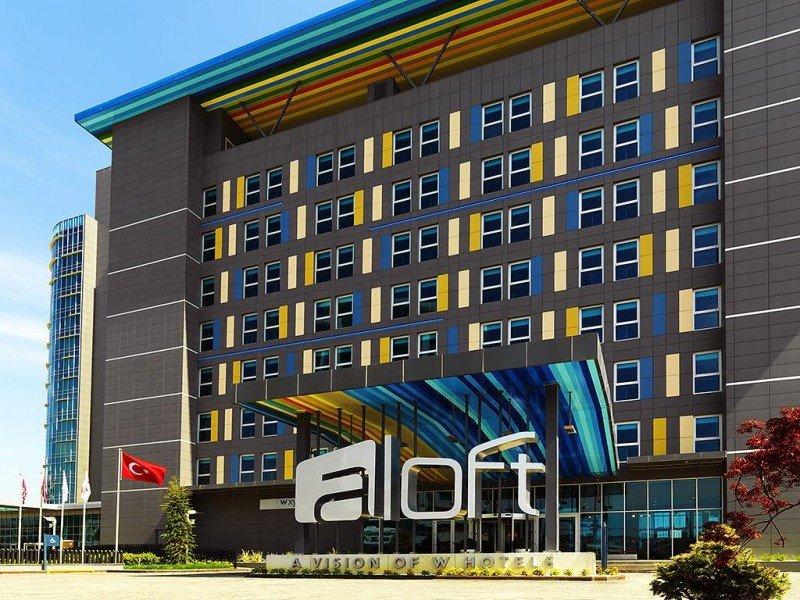 El hotel Aloft Bursa, con 133 habitaciones.