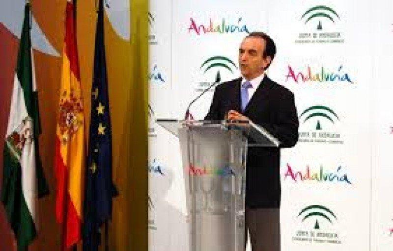 Rafael Rodríguez, consejero de Turismo de Andalucía.