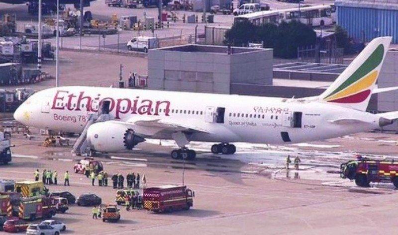 Incendio en el B787 Dreamliner de Ethiopian no parece vinculado a las baterías