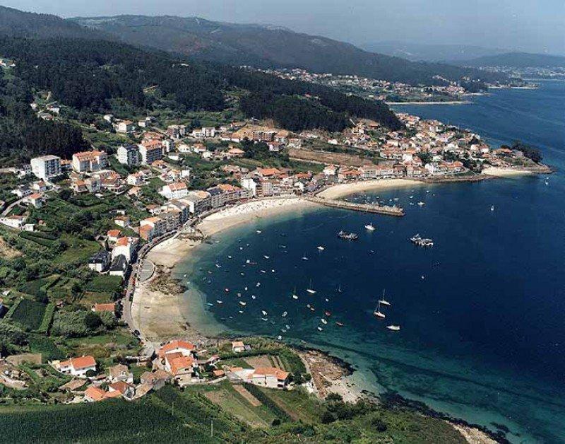 La costa gallega ha sido la gran beneficiada por los cambios en las predicciones meteorológicas.