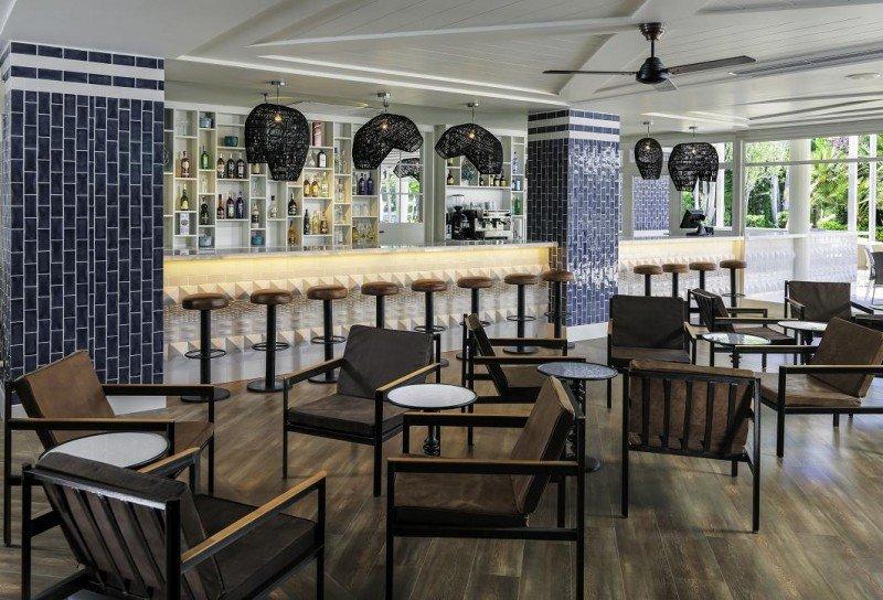 El nuevo lobby bar del hotel.