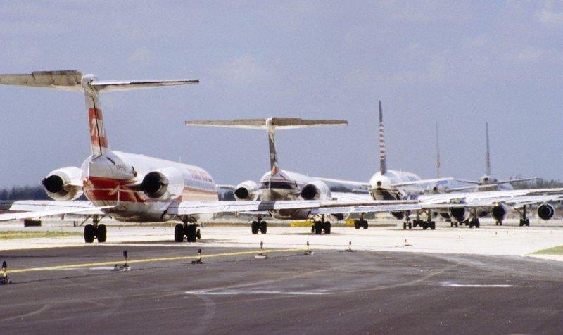 Aerolíneas transportaron casi 3.000 millones de pasajeros en 2012