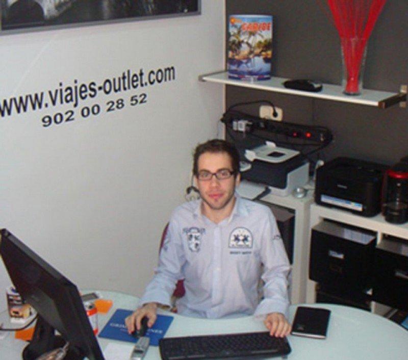 Jordi Alcaraz, findador de Viajes Outlet.