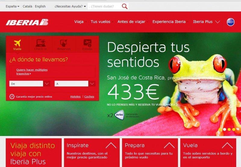 Iberia pospone la venta del primer social flight tras colapsársele el sistema