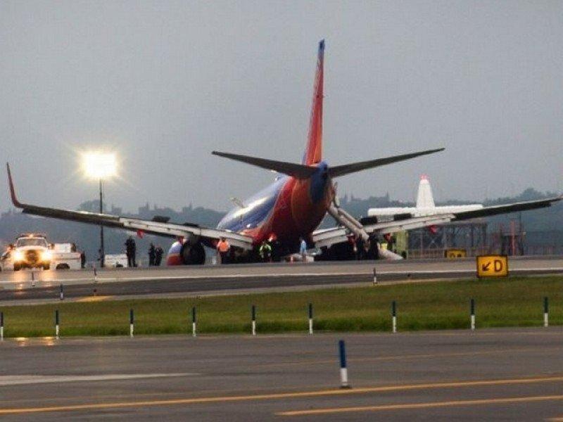 Investigan aterrizaje forzoso de un avión de Sothwest en Nueva York