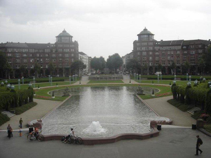 El nuevo hotel Radisson Blu Hotel Mannheim de Carlson Rezidor abrirá en 2016. (Foto, la Fountain Square de mannheim).