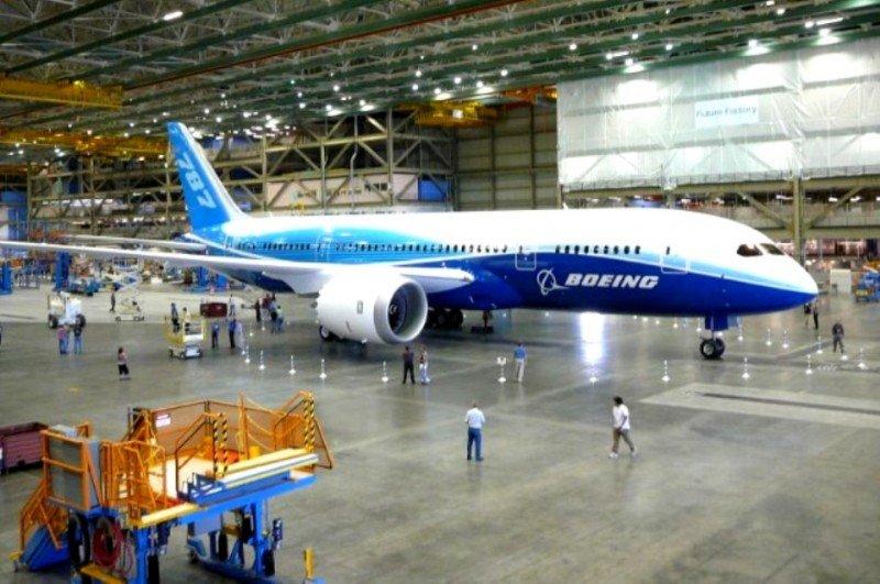 Boeing ganó en el segundo trimestre 823 M €, un 13% más