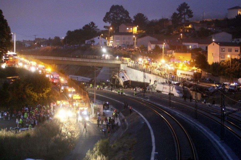 Exceso de velocidad: causa probable del accidente de tren en Galicia en el que mueren 77 personas. SXENICK (efe)