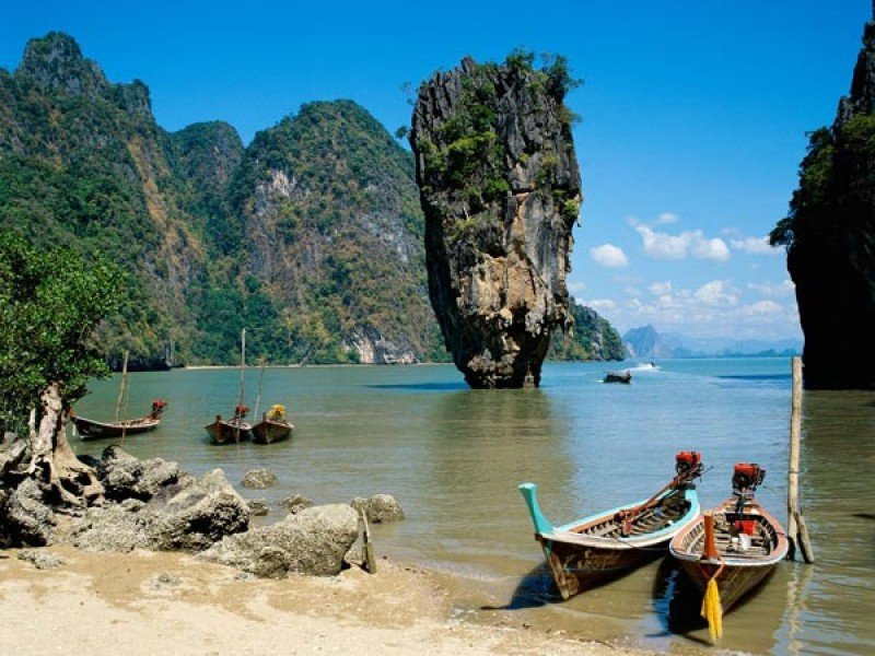 Phuket, un destino estrella de Tailandia.