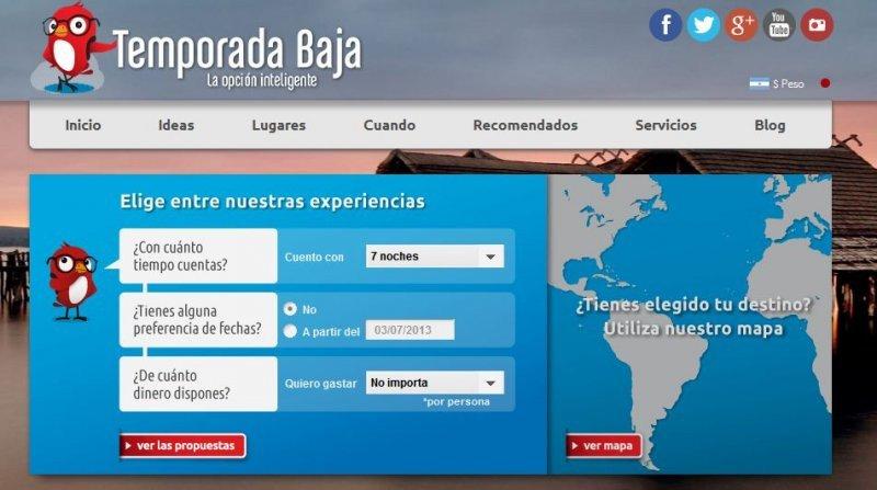 La agencia online ofrece destinos en 10 países de Latinoamérica.