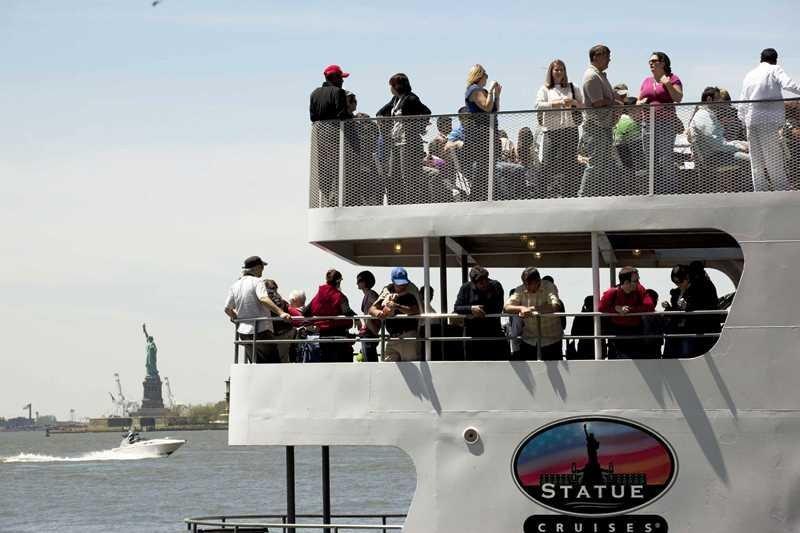 Statue Cruises opera el servicio desde hace cinco años