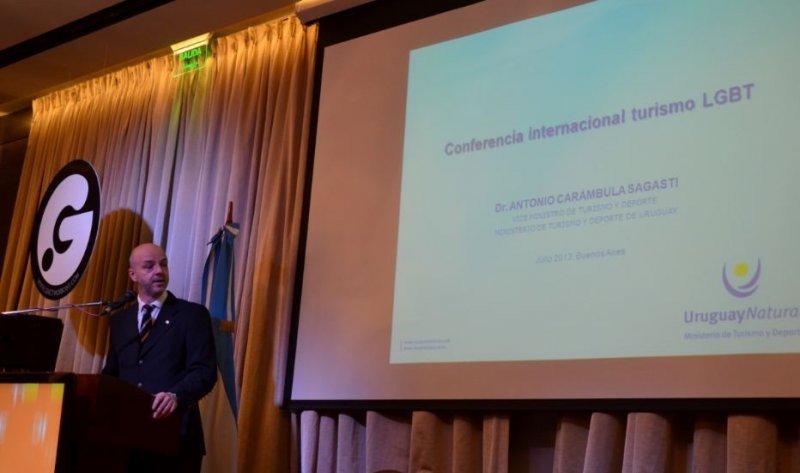 Antonio Carámbula durante la presentación en la segunda jornada de Gnetwork360.