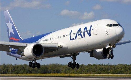 LAN Chile prevé transportar 17.000 pasajeros diarios en julio