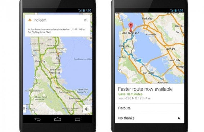 Entre las nuevas funciones aparece Incidents que muestra en tiempo real información sobre el tráfico.