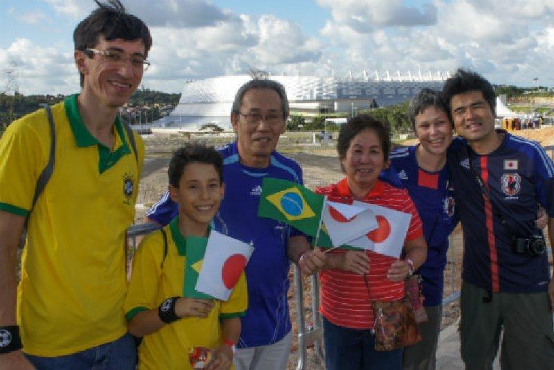 Turistas japoneses atraídos por el fútbol