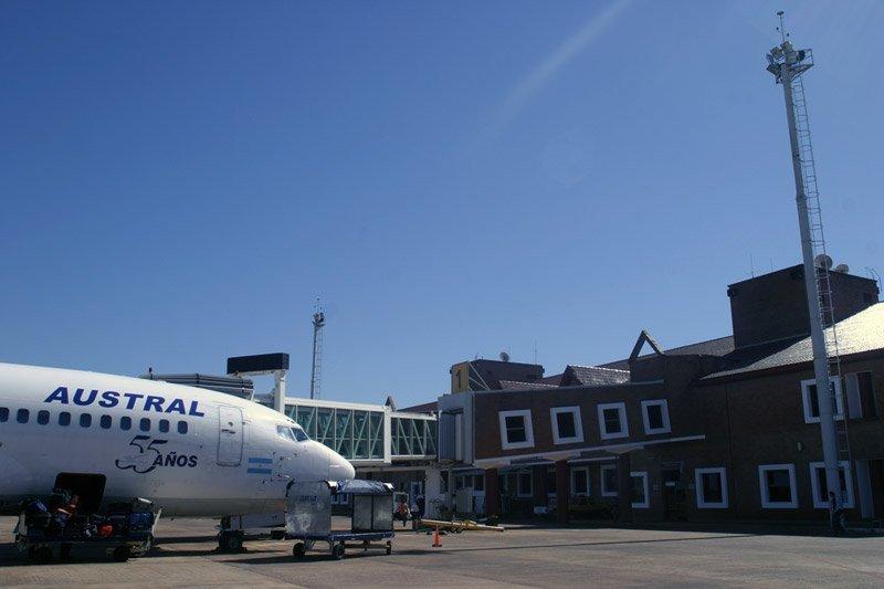 El aeropuerto de Puerto Iguazú fue el que mostró un mayor aumento de pasajeros en el mes de junio