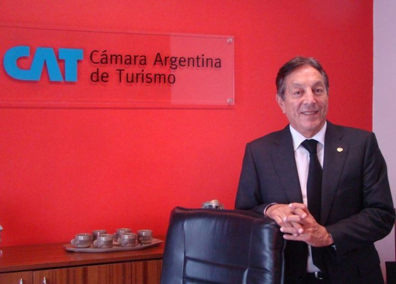 La comitiva de la Cámara de Turismo estuvo encabezada por su presidente, Oscar Ghezzi.
