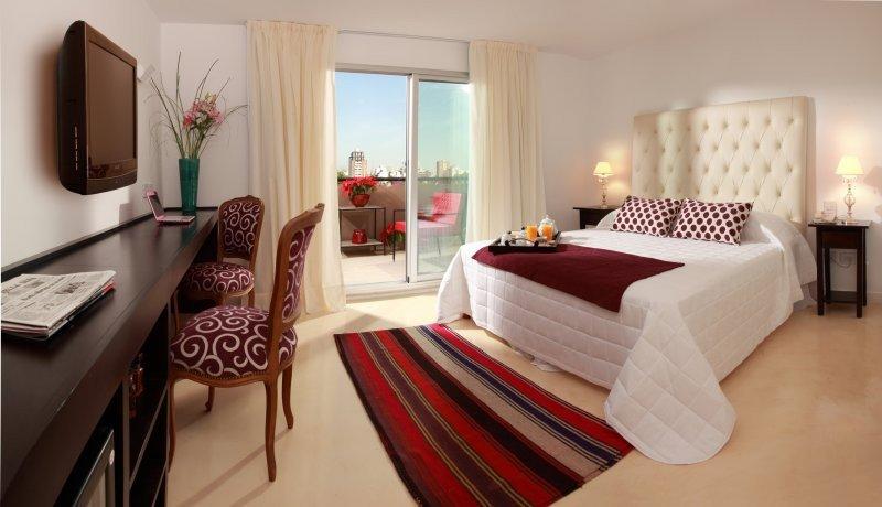 Hoteles de categoria, apart y boutique los más elegidos por los turistas en Argentina.