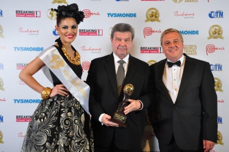 El presidente de Lan Perú recibió el premio en Lima en nombre de la compañía
