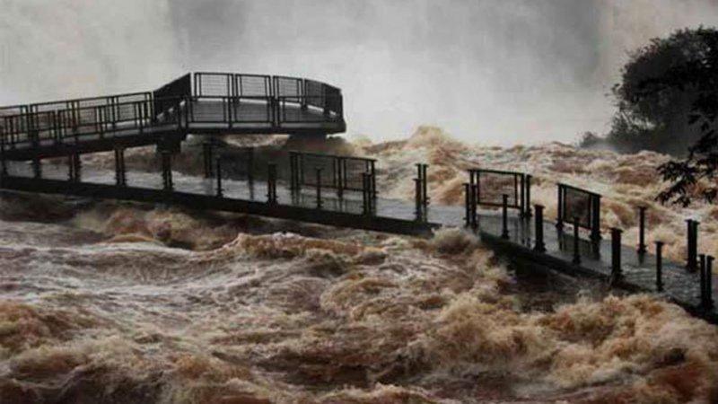 El circuito fue cerrado el 26 de junio por las crecidas de los ríos.