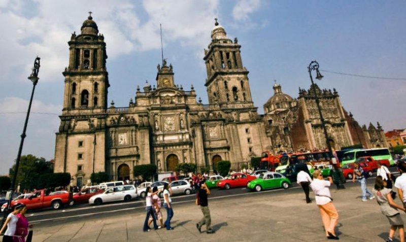 Casi 650.000 sudamericanos visitaron Ciudad de México el año pasado.
