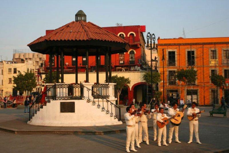 Plaza Garibaldi, México.