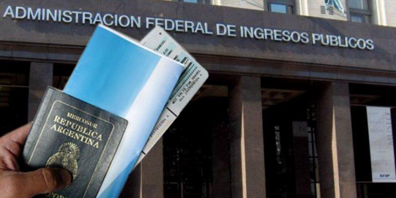 La recaudación de AFIP llega a US$ 835 millones entre paquetes turísticos, aéreos y pago con tarjetas de crédito en el exterior.