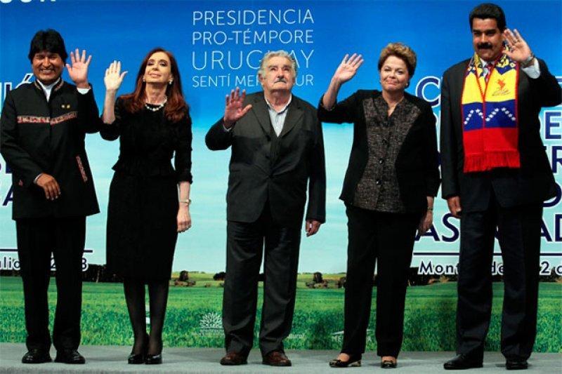 Venezuela acaba de recibir la presidencia pro-témpore del bloque de manos de Uruguay
