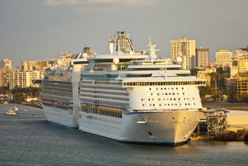 Cruceros en el puerto de San Juan de Puerto Rico. #shu#
