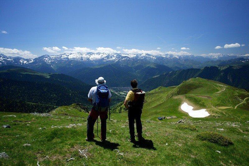 La Val d'Aran permite disfrutar de paisajes de gran belleza.