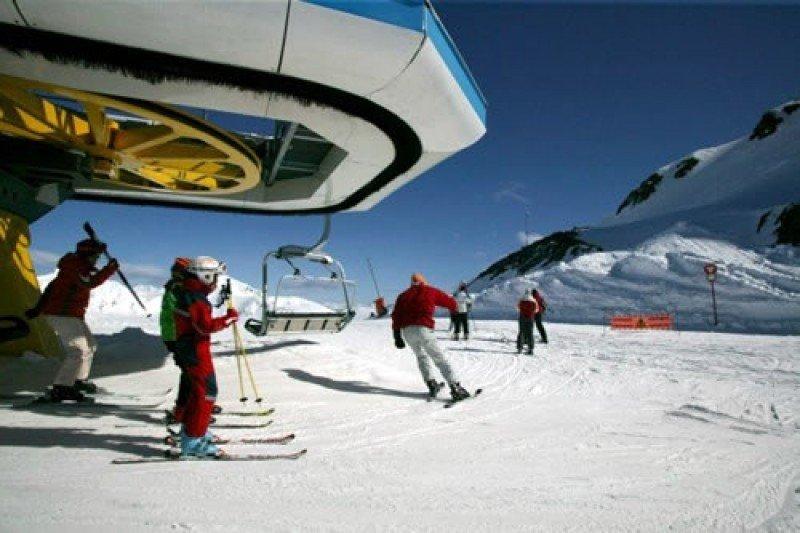 Estación de esquí de Boí Taüll, Lleida.