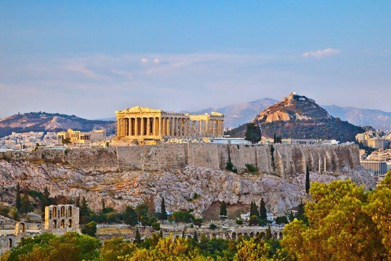 Atenas alcanzó el mayor crecimiento de la ocupación. #shu#.