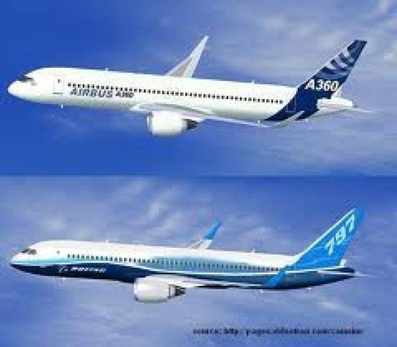 Airbus y Boeing registraron un récord histórico de 1.189 entregas.