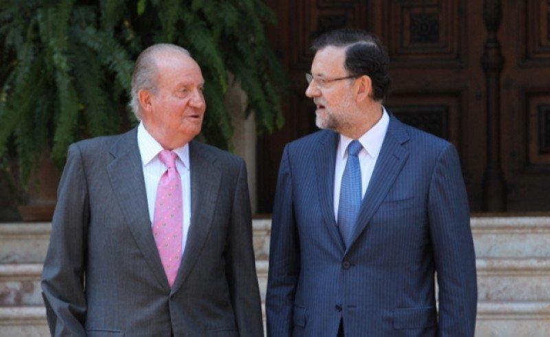 El Rey y Mariano Rajoy se han reunido este viernes en Palma de Mallorca. Foto: Casa de S.M. el Rey / Borja Fotógrafos.