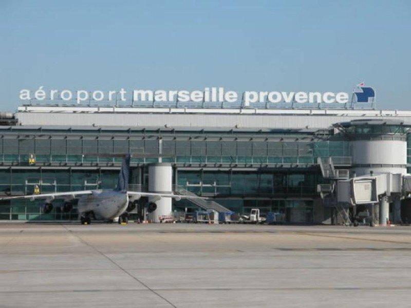 El aeropuerto de Marsella, líder europeo en retrasos.