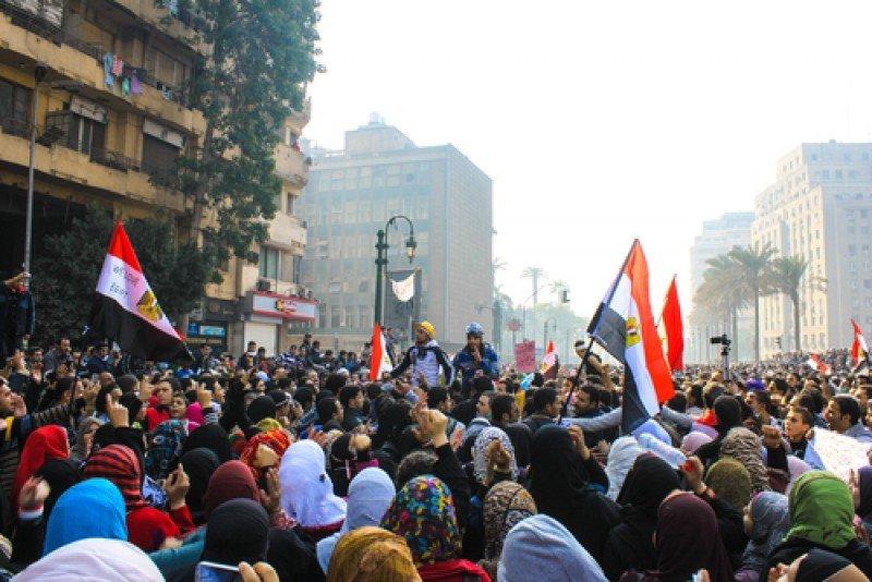 Protestas en El Cairo. #shu#