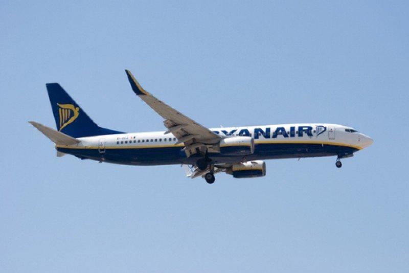 Un avión de Ryanair. #shu#