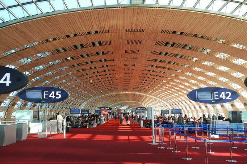 Aeropuerto París-Charles de Gaulle.