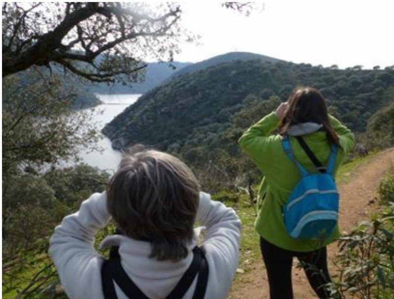 Observación de aves en Extremadura.