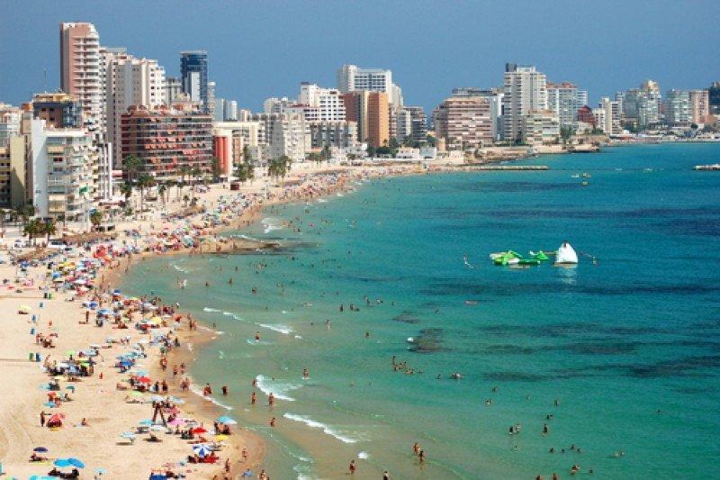 La playa de Calpe, en la Comunidad Valenciana #shu#