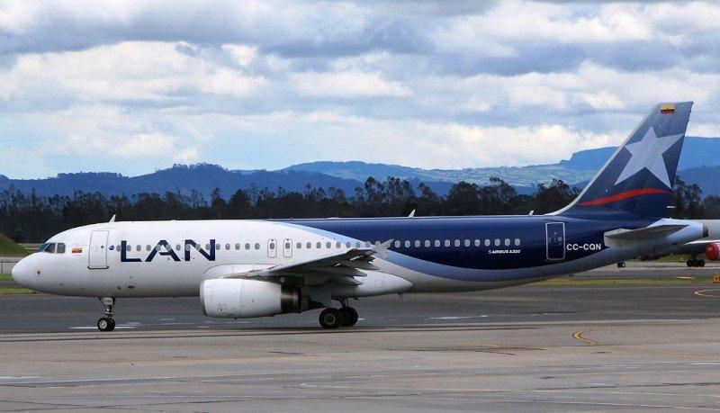 LAN Airlines opera el primer vuelo comercial con biocombustible en Colombia